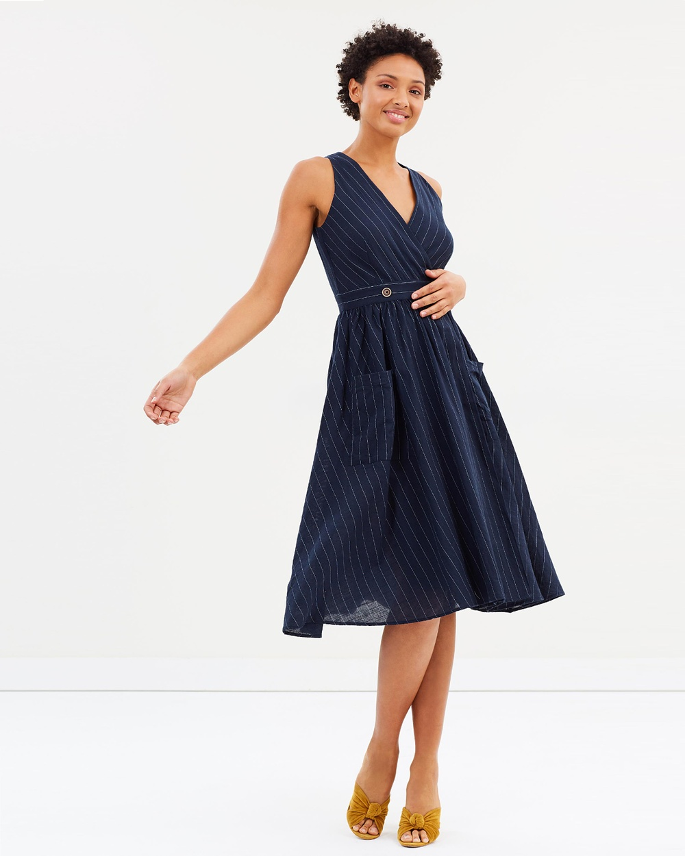 M.N.G Sally Dress Dresses Navy Sally Dress