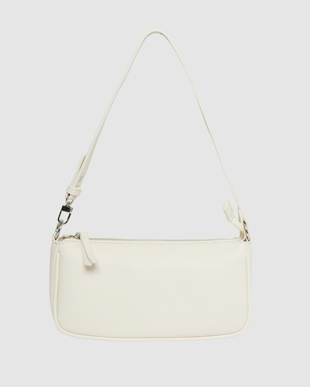 Sandler H Tang Handbags Ivory Pebble H-Tang