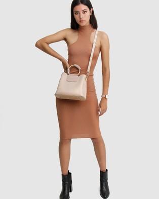 Belle & Bloom Twilight Leather Cross Body Bag - Bags (Nude)