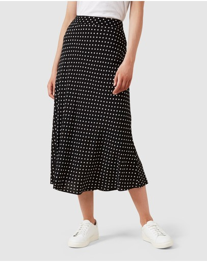 French Connection - Fluted Midi Skirt