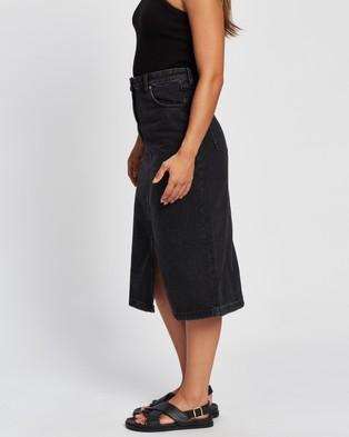 M.N.G Bayb h Skirt - Denim skirts (Open Grey)