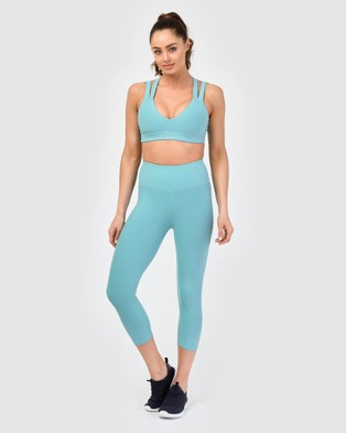 dk active Last Minute Tights - 3/4 Tights (Blue)