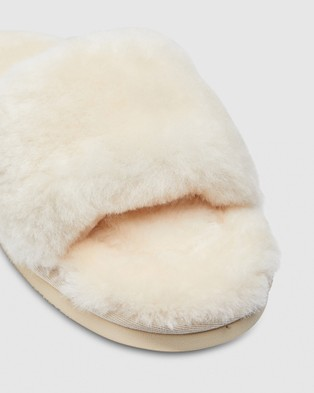 Hush Puppies Lust - Slippers & Accessories (Natural)