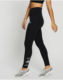 adidas Performance - Stacked Logo High-Rise Leggings
