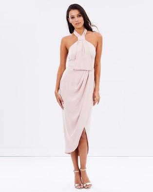 Shona Joy – Core Knot Draped Dress – Bridesmaid Dresses Ballet