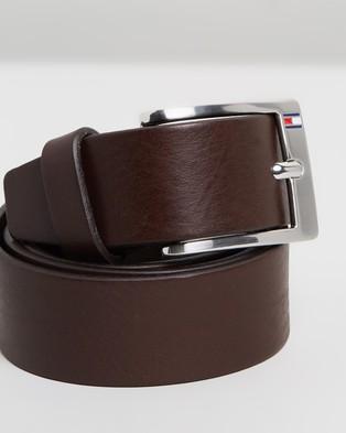 Tommy Hilfiger New Aly Belt - Belts (Dark Brown)
