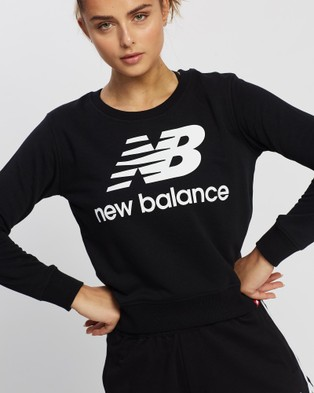 New Balance Essentials Crew - Crew Necks (Black)
