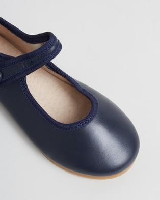 Little Fox Shoes Angel - Ballet Flats (Navy)