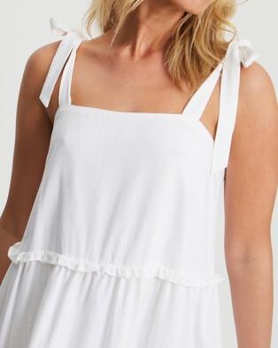 Tussah Perry Mini Dress - Dresses (White)