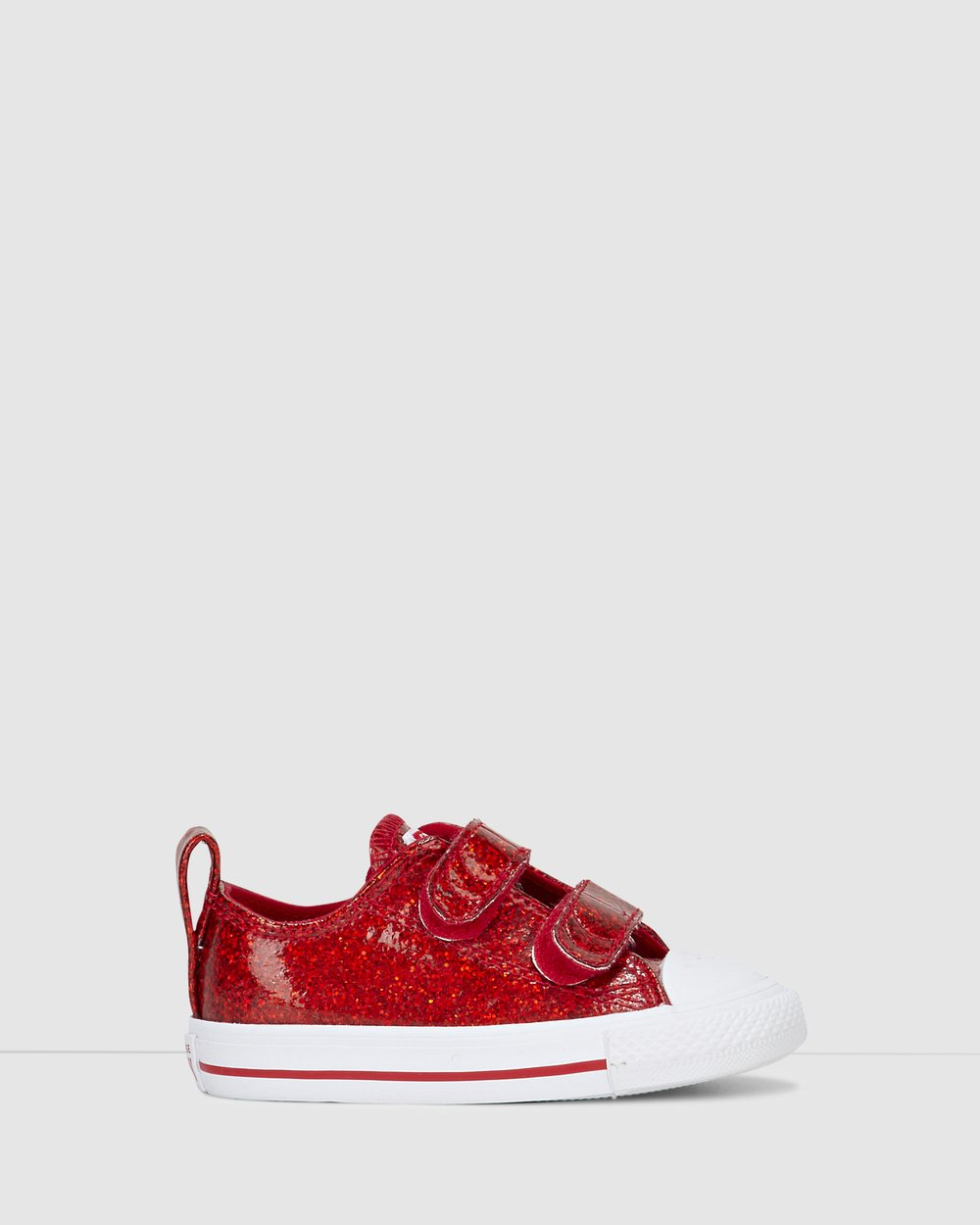 18e4fd5abc322f Chuck Taylor All Star 2V Glitter Ox Infant by Converse Online