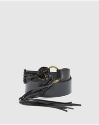 Oxford - Mika Leather Fringe Belt