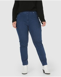 Advocado Plus - Carmen Pull On Jeans