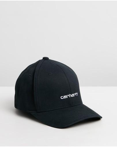 Carhartt Script Cap Black & White