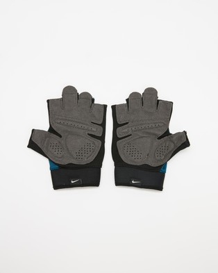 Nike Extreme Fitness Gloves   Men's - Accessories (Blue Force & Black)