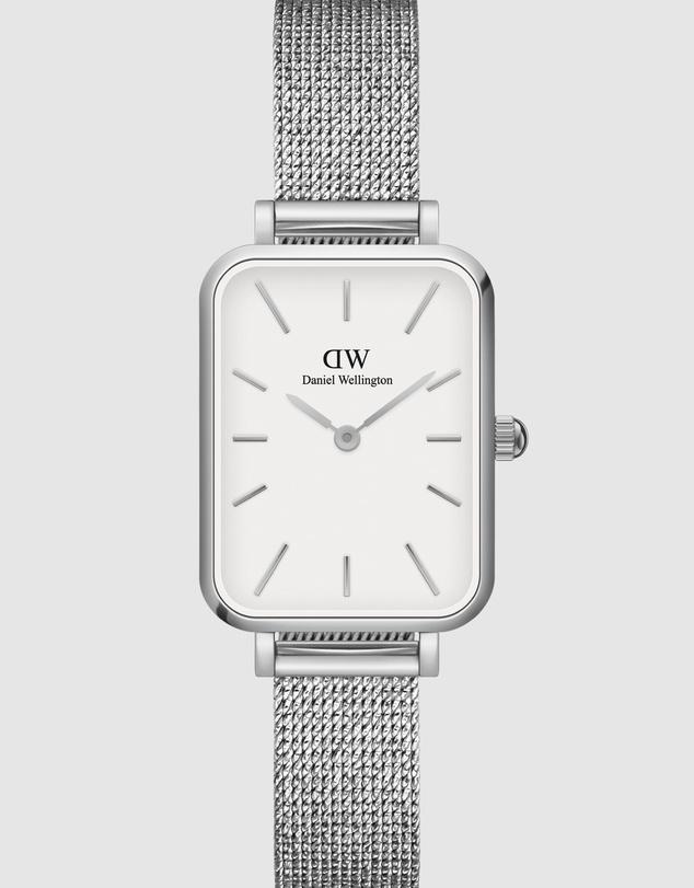 Women Quadro Pressed Sterling + Bracelet S - Gift Set