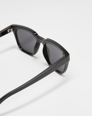 JUNiA Boom Sunglasses   Kids - Square (Black)