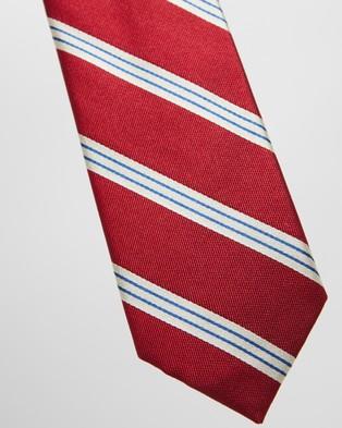 Gant Regimental Stripe Tie - Ties (Red)