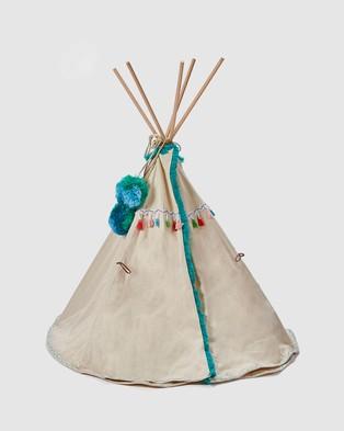 Nana Huchy Doll's Teepee - Home (Blue)