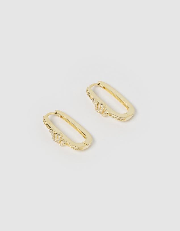 Women Viper Hoop Earrings