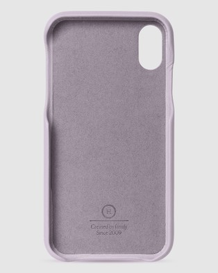 The Horse iPhone XR   The Scalloped iPhone Cover - Tech Accessories (Lavender iPhone XR)
