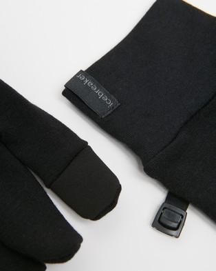 Icebreaker Sierra Gloves - Outdoor Gloves (Black)