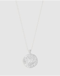 By Charlotte - Aries Zodiac Necklace