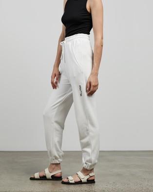 C&M CAMILLA AND MARC Jordan High Waisted Track Pants - Sweatpants (White)