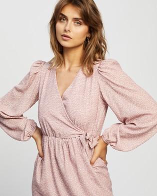 Atmos&Here Jessy Mini Dress - Printed Dresses (Pink Print)