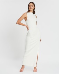 Bec + Bridge - Noir Et Blanc Midi Dress