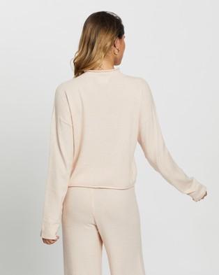 The Upside Igor Lounge Knit Sweater - Sweats (Pink)