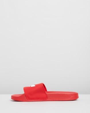 adidas Originals Adilette Lite   Unisex - Slides (Scarlet & Footwear White)
