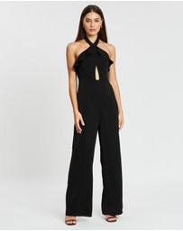 Atmos&Here - Halter Neck Jumpsuit