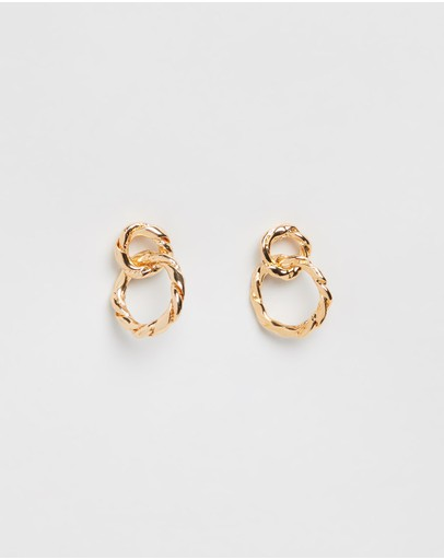 Reliquia Jewellery - Strictly Speaking Gold Earrings