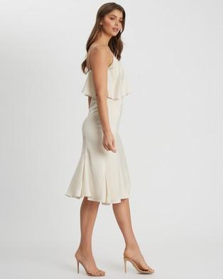 CHANCERY - Raelynn Midi Dress - Bridesmaid Dresses (Champagne) Raelynn Midi Dress