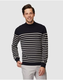 Jack London - Stripe Turtleneck Knit