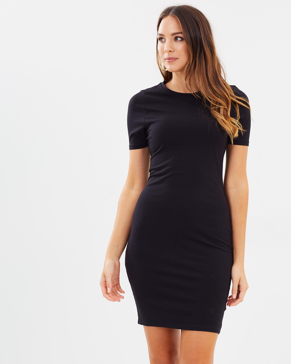 Dorothy Perkins Tee Dress Dresses Black Tee Dress