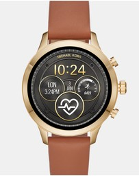 Michael Kors - Runway Brown Smartwatch Strap