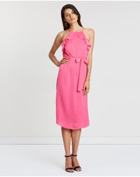 Atmos&Here - Lulu Ruffle Tie Dress