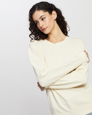 Assembly Label Iona Terry Sweater Clothing Natural
