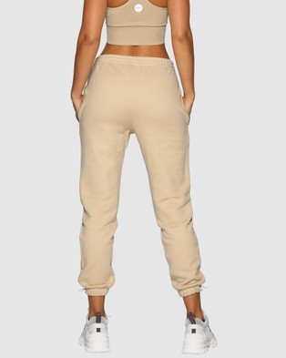 Nicky Kay High Rise Pants - Sweatpants (Cream)