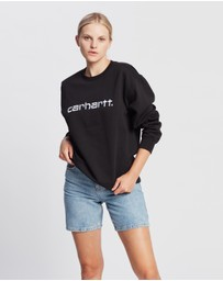 Carhartt - Embroidered Logo Sweatshirt