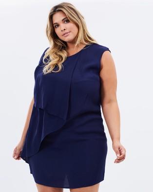Advocado Plus – Nightfall Folded Overlay Dress Ink