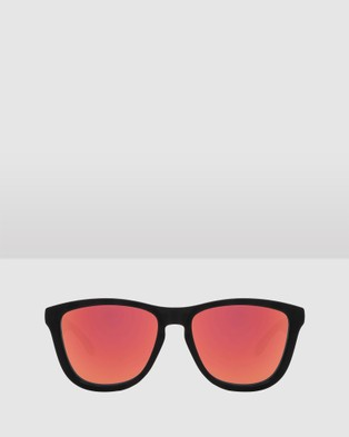 Hawkers Co Carbon Black Ruby ONE - Sunglasses (Black)