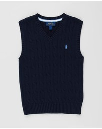 Polo Ralph Lauren - Combed Cotton Cable Vest - Kids