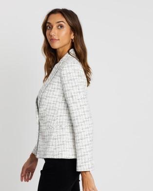 Sportscraft Alberta Tweed Jacket - Blazers (white)
