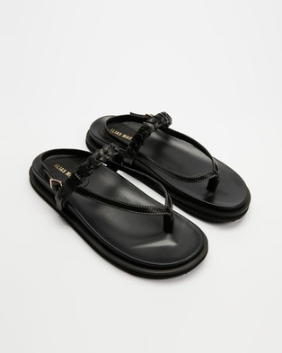Alias Mae - Sommer - Sandals (Black Leather) Sommer