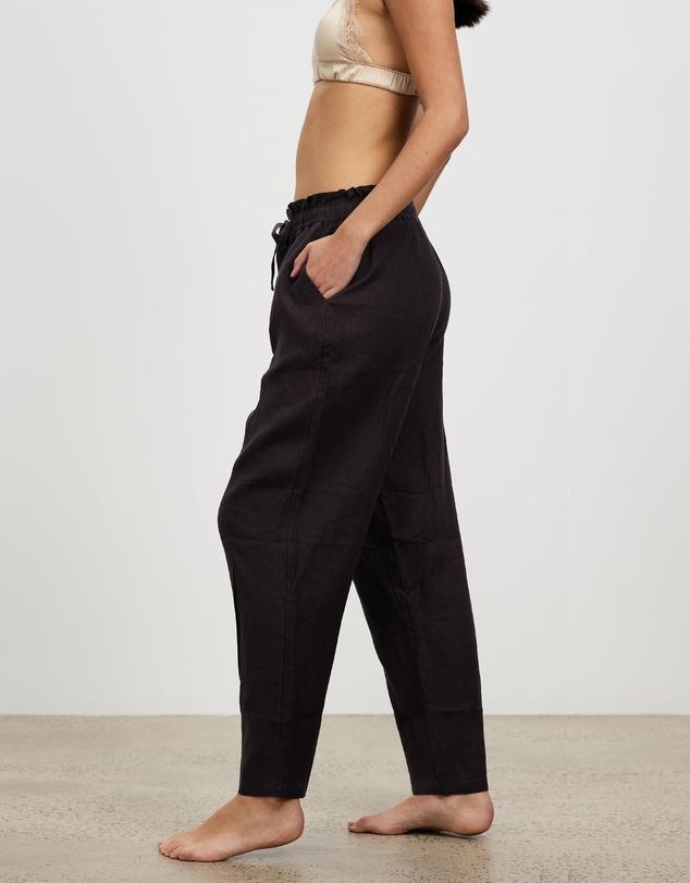 Women 100% Linen Pants