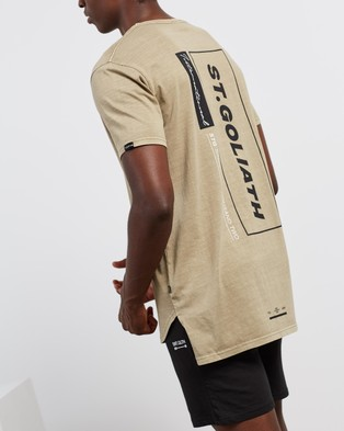 St Goliath City Guide Tee - T-Shirts & Singlets (Sand)