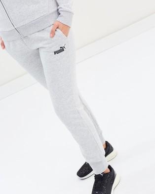 Puma Essential Full Length Sweat Pants - Sweatpants (Light Grey Heather)