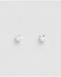 Swarovski - Attract Round Earrings